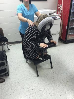 reduce teacher stress with massages