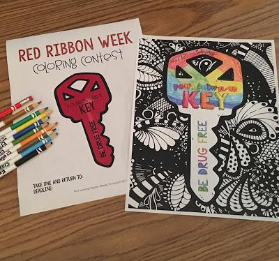 red ribbon week free activities