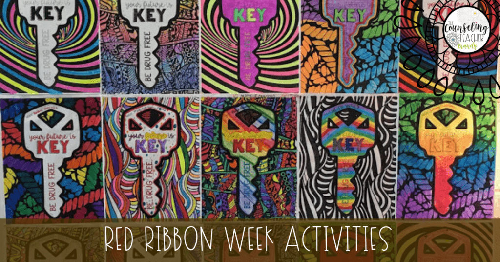 Red Ribbon Week Activities: Free Printable Coloring Contest