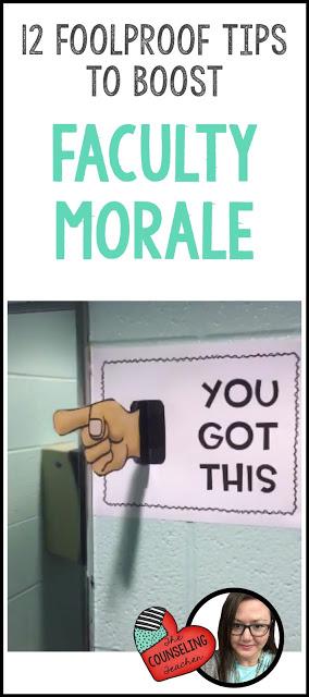 teacher morale boosters