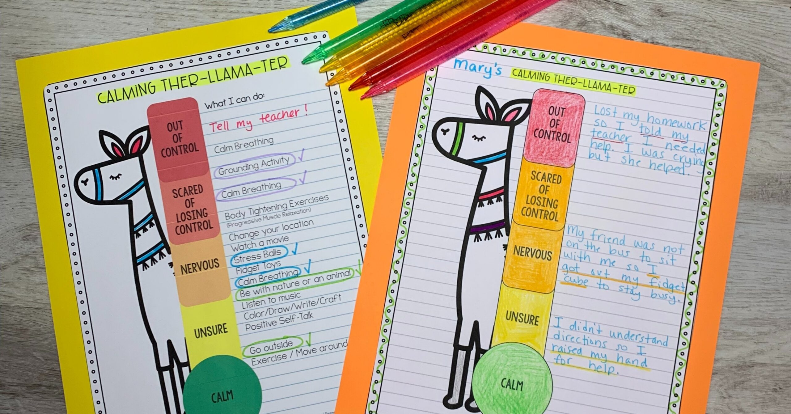 Relieve Stress in Your Students with the Calming Llama