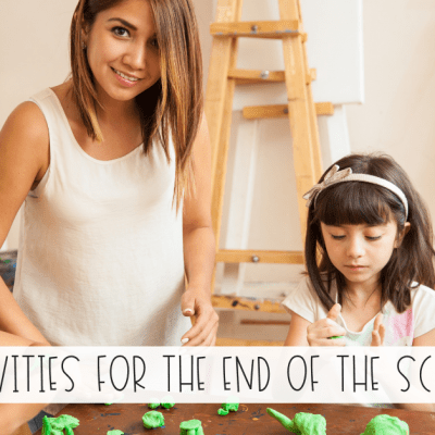 4 Calm End of Year Activities for Kids