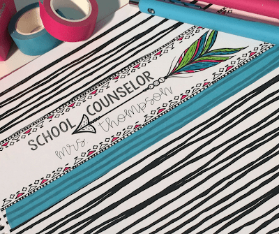 School Counselor Planner Tips & Free Printable