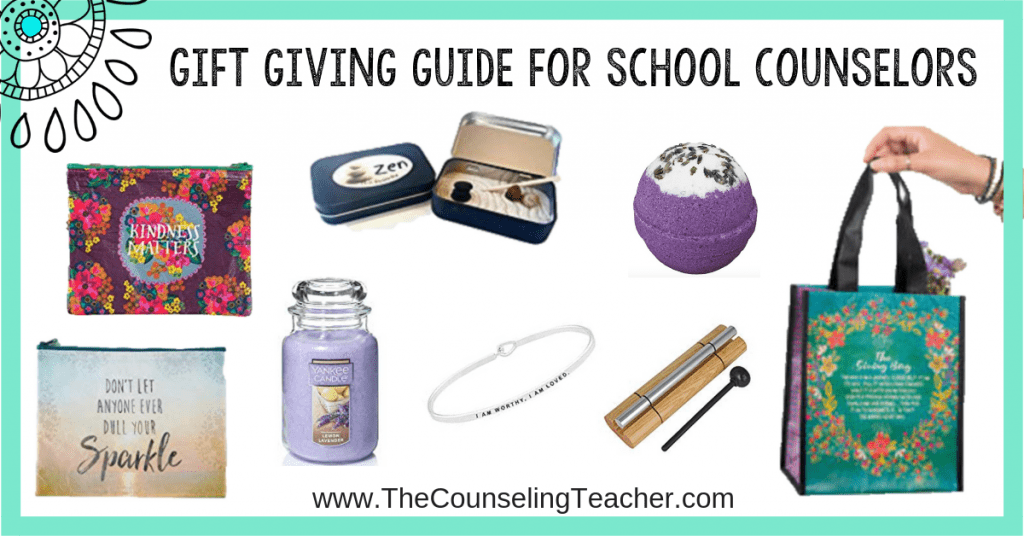 gift giving guides for school counselors