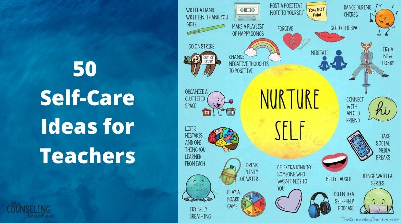 self-care ideas for teachers