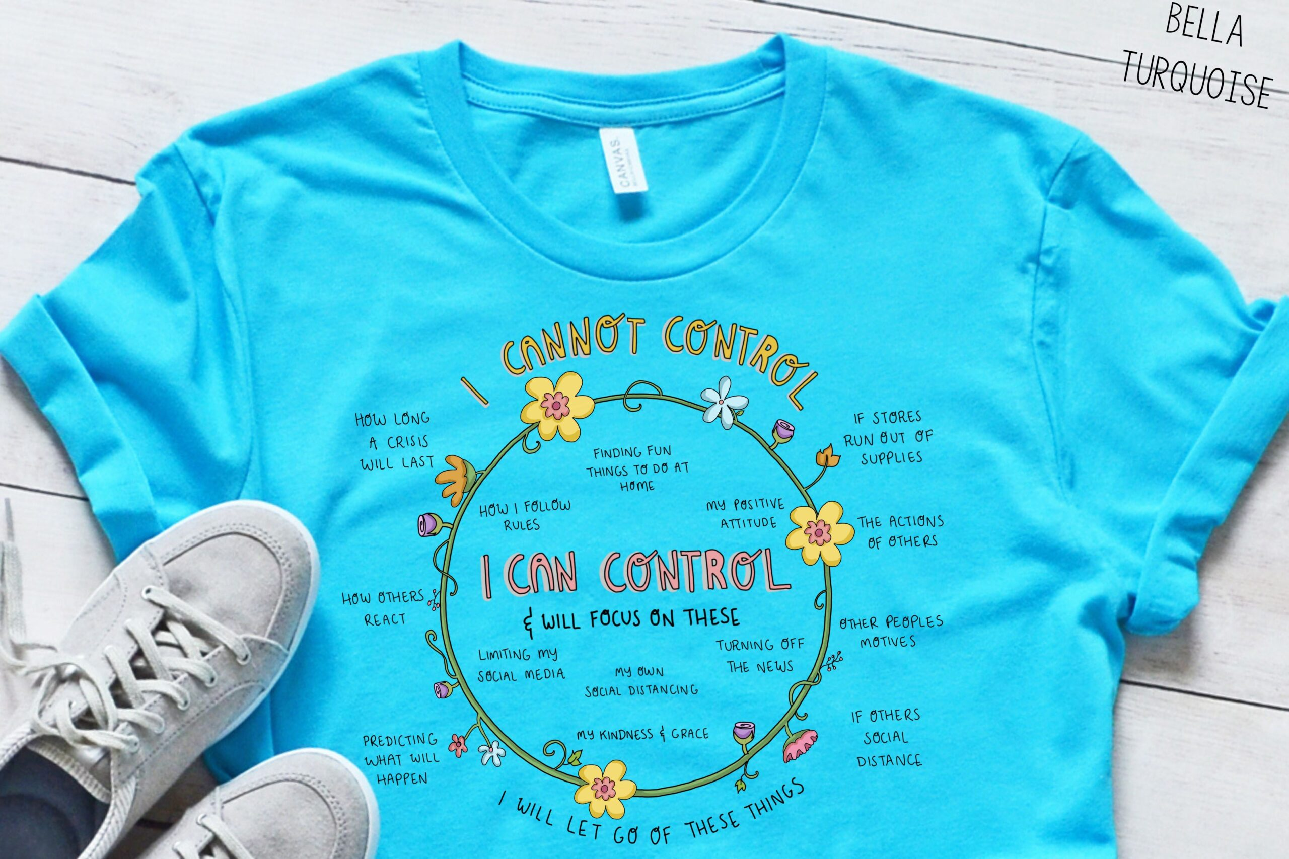 Circles of Control tee