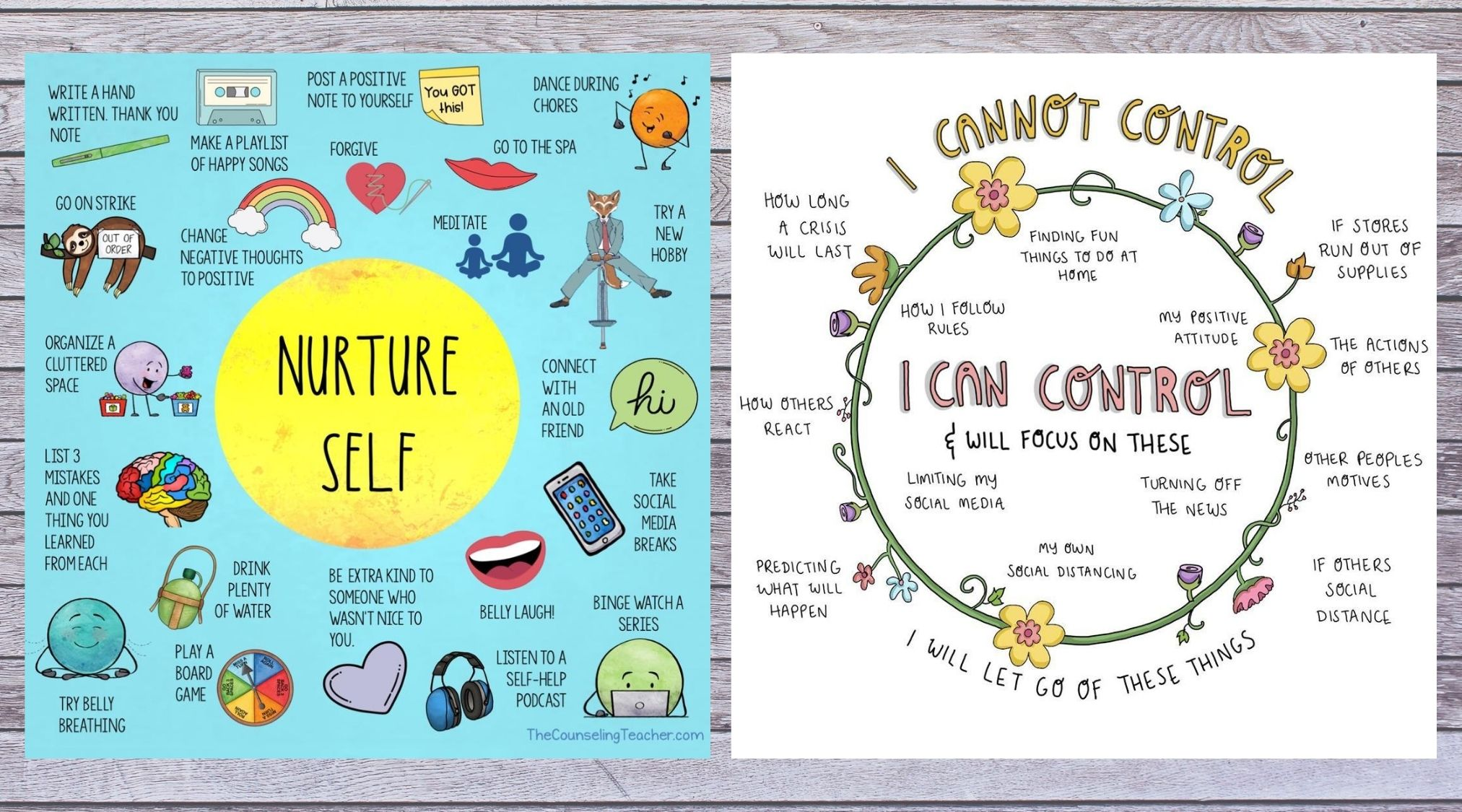 self care posters