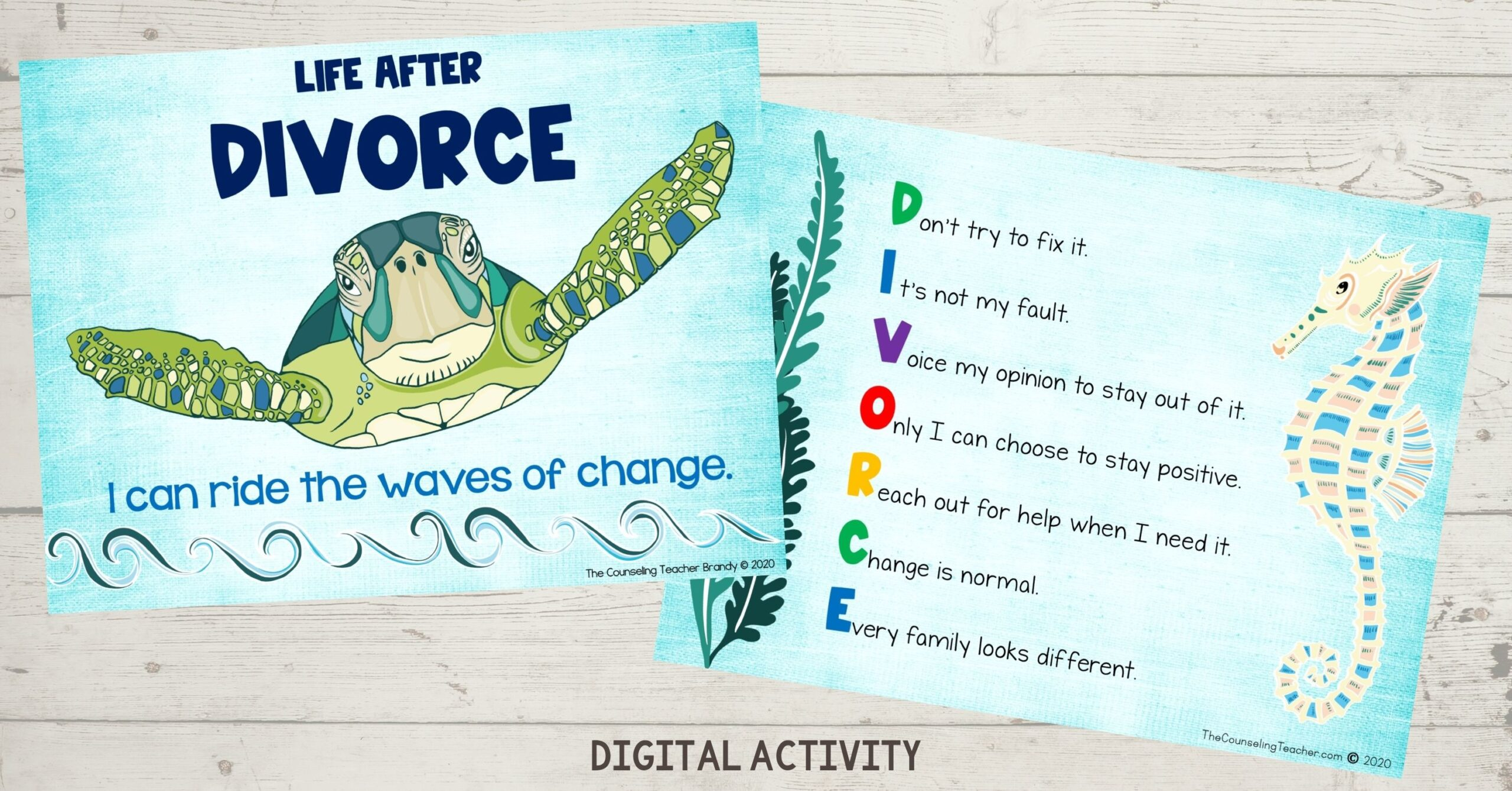 Google Classrooms Lesson on Divorce