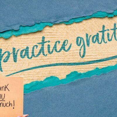 Make Gratitude a Habit for You and Your Students
