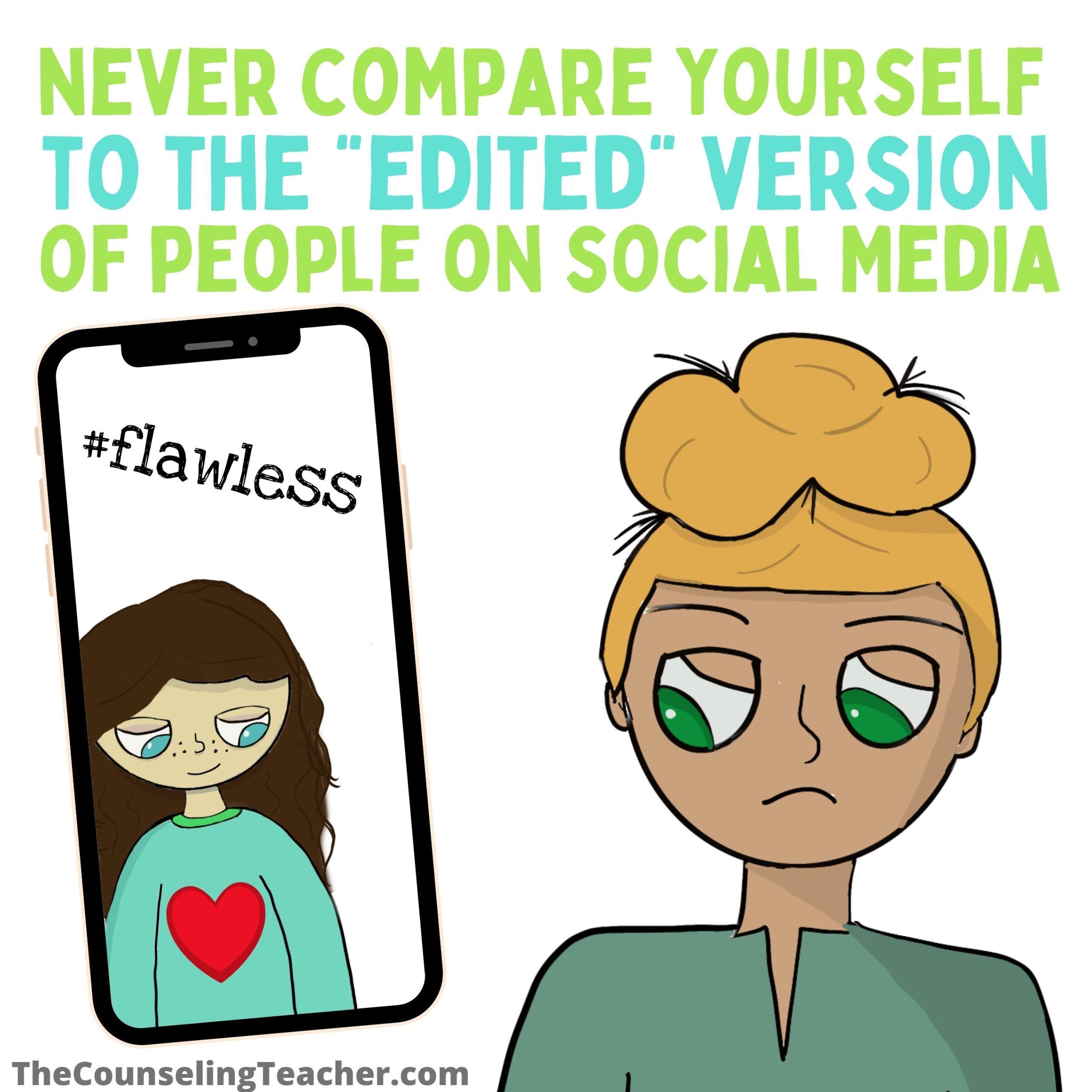 social media comparisons